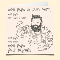Papa musclé