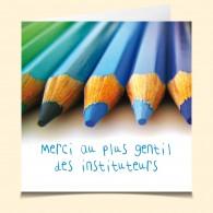 Instituteur Crayons