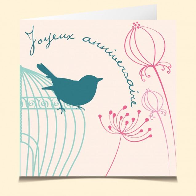 Carte Vocal Parlante Joyeux Anniversaire Poème Poésie
