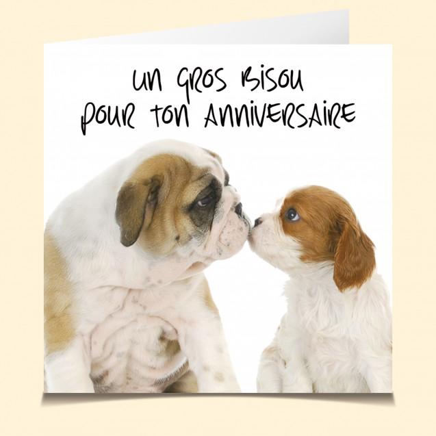 Carte Vocale Parlante Joyeux Anniversaire Dog Chien Humour