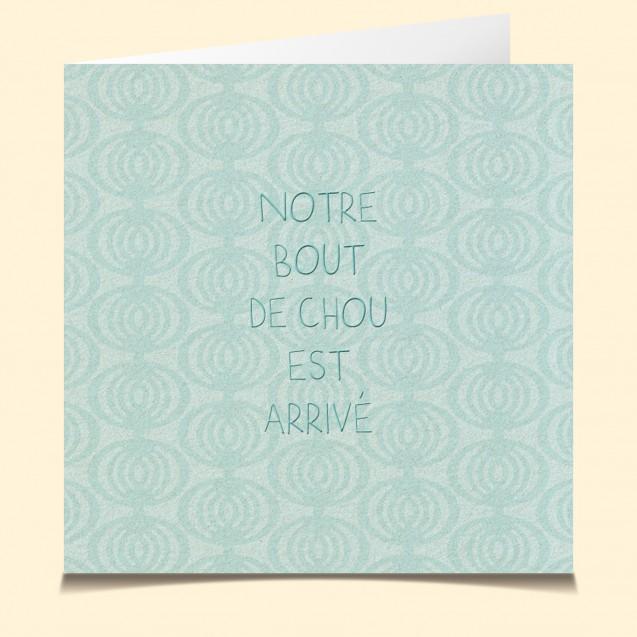 Naissance-Bout de chou