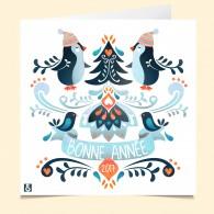 La carte vocale Pingouin voeux